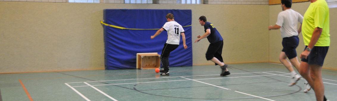 Feuerwehrsport in der Sporthalle