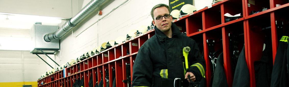 Freiwillige Feuerwehr bedeutet Ehrenamt.