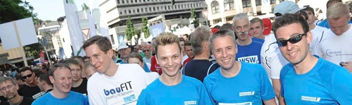 Schwebebahnlauf 2013 in Elberfeld