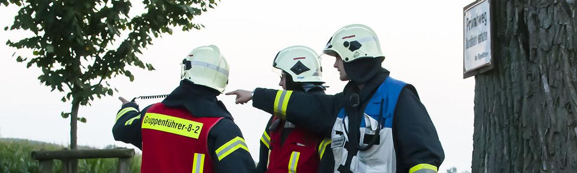 Zug- und Gruppenführer der Feuerwehr Wuppertal