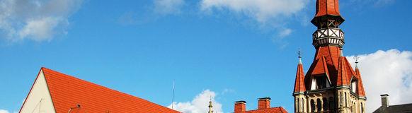 Auf dem Vohwinkeler Rathausturm befindet sich eine Sirene aus Kriegszeiten.