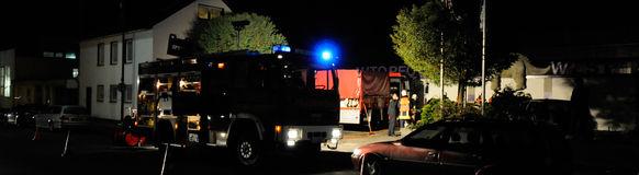 Der LZ 8 trainiert die Rettung von eingeklemmten Personen
