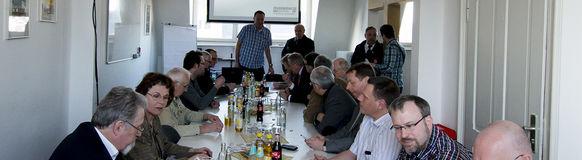 SPD-Ratsfraktion Wuppertal zu Besuch beim Löschzug Vohwinkel