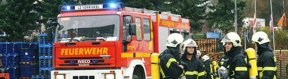 Die Freiwillige Feuerwehr Vohwinkel war am 13. Februar an der Vohwinkeler Straße im Einsatz.
